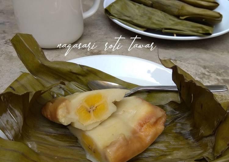 Resep membuat Nagasari roti tawar #makananfavoritibu #semuatentangibu ala resto