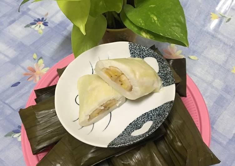 Cara Mudah membuat Nagasari pisang yang bikin ketagihan