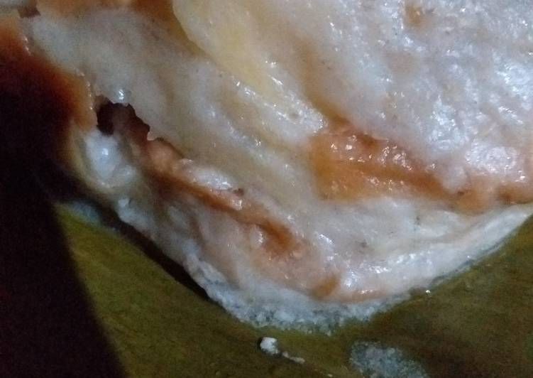Resep: Borongko pisang roti tawar /nagasari roti