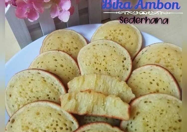 Resep memasak Bika ambon (sederhana) lezat