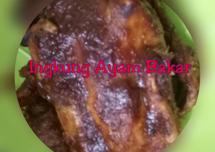 Resep: Ingkung Ayam Bakar yang bikin ketagihan