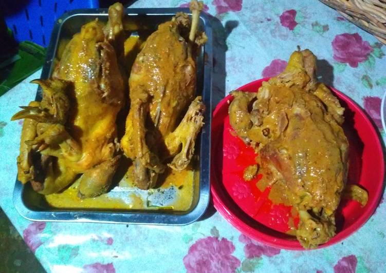 Resep: Ingkung ayam kampung istimewa