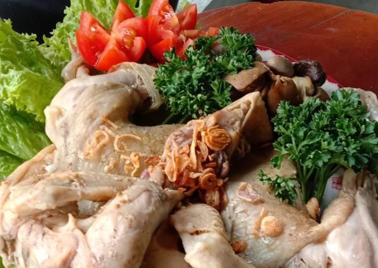 Resep mengolah Ingkung ayam kampung lezat