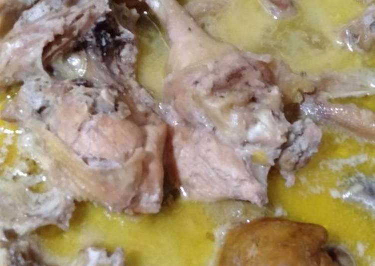 Resep: Ayam bumbu ingkung yang bikin ketagihan