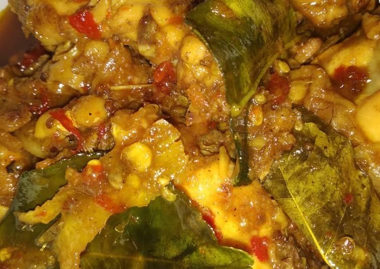 Resep memasak Ayam bumbu ingkung ala resto