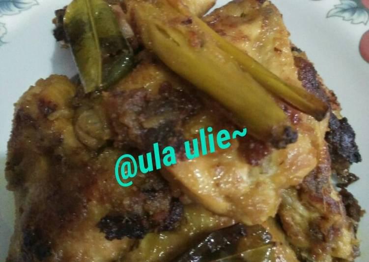 Resep: Ayam bakar bumbu ingkung yang bikin ketagihan