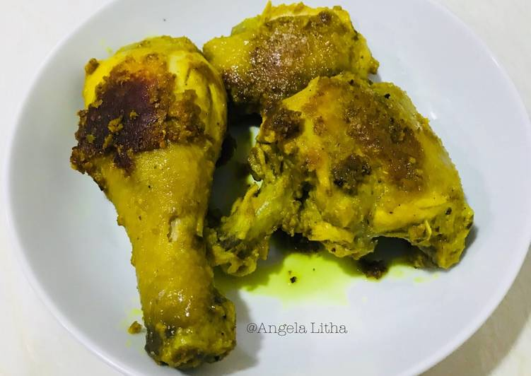 Resep: Ayam panggang bumbu ingkung istimewa