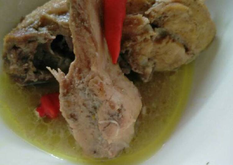 Resep: Ingkung ayam kampung lezat