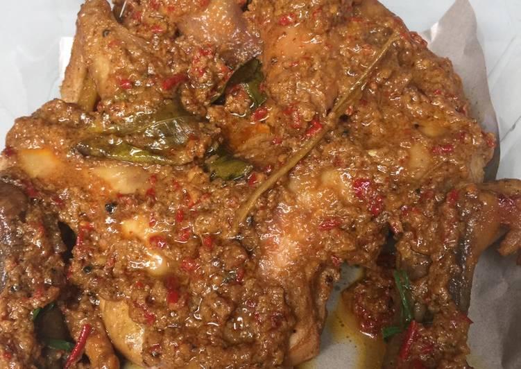 Resep: Ingkung Ayam kampung