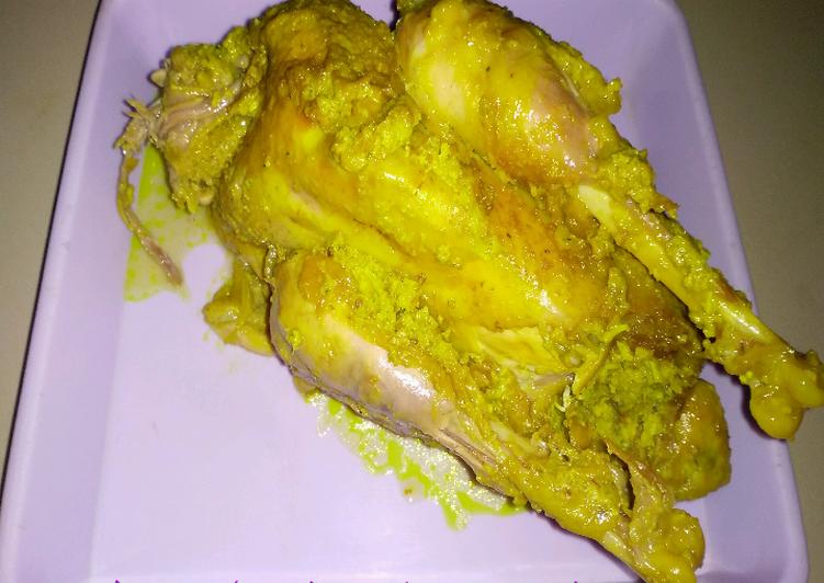 Resep: Ingkung (dekem) ayam kampung yang bikin ketagihan