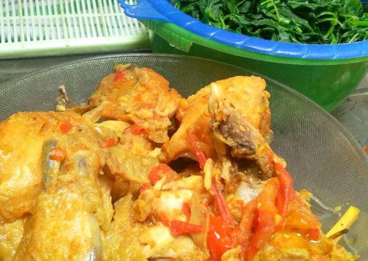 Resep: Ayam asam manis pedas