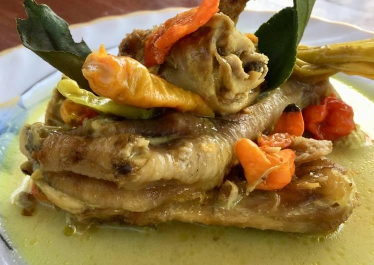Resep membuat Ayam lodho khas Tulungagung, Jawa Timur yang menggugah selera