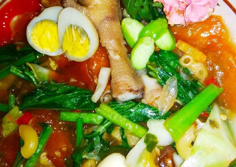 Cara Mudah memasak Seblak Mercon Kusuma khas Sragen istimewa
