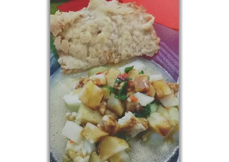 Cara memasak Tepo sayur khas ngawi yang bikin ketagihan