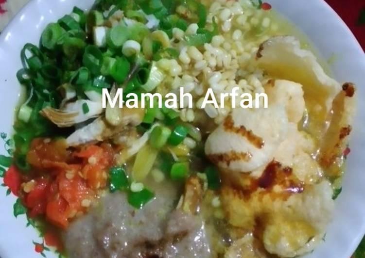 Resep mengolah Soto Ayam khas Banyumas sedap