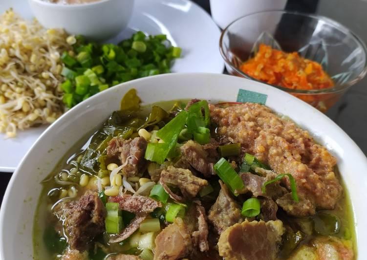 Cara memasak Soto Sokaraja Banyumas yang menggugah selera