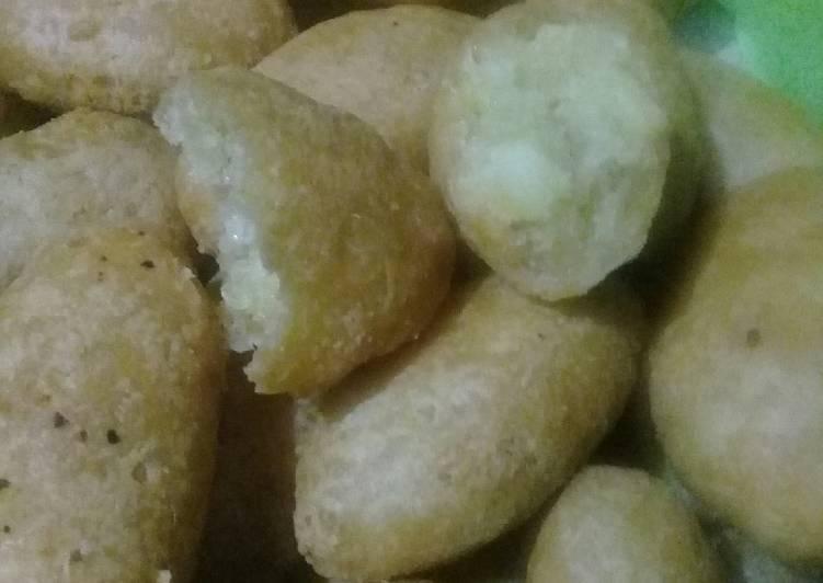Resep: Gethuk singkong goreng - (dng isian gula pasir) lezat