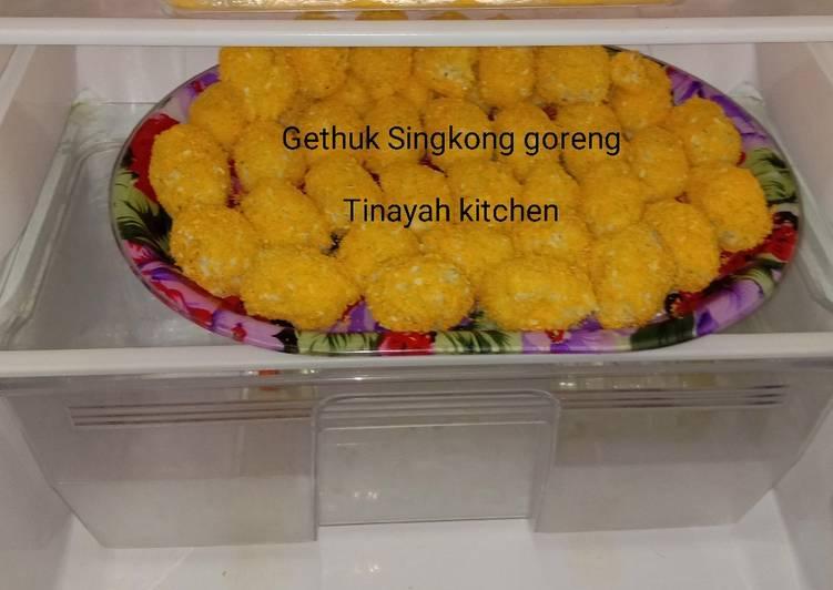 Resep: Gethuk Singkong Goreng Keju etta goatmilk ala promil yang bikin ketagihan