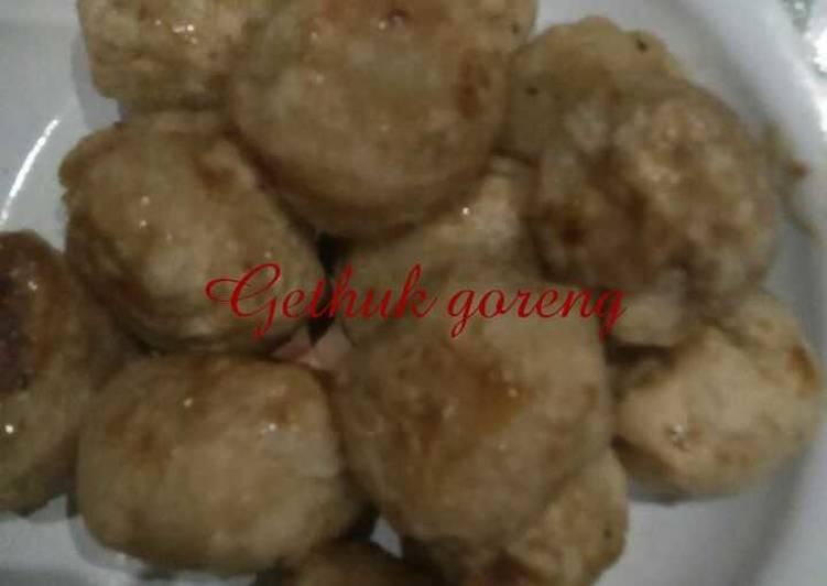 Cara memasak Gethuk goreng rumahan