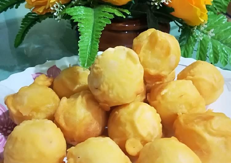 Resep membuat Gethuk goreng comel lezat