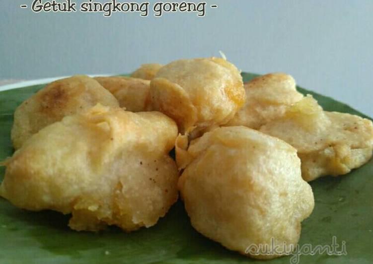 Resep mengolah Gethuk singkong goreng lezat