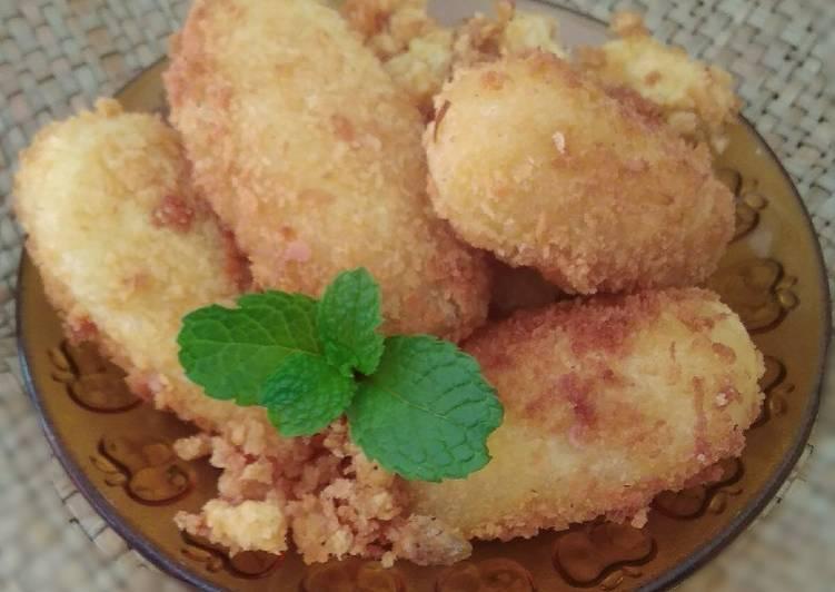 Cara memasak Getuk goreng krispy enak