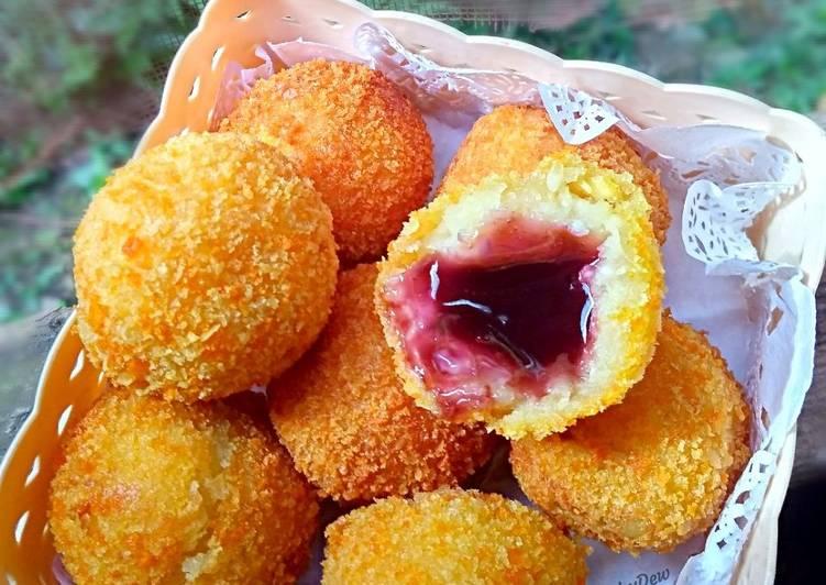 Resep: Getuk Susu isi Selai #RabuBaru lezat