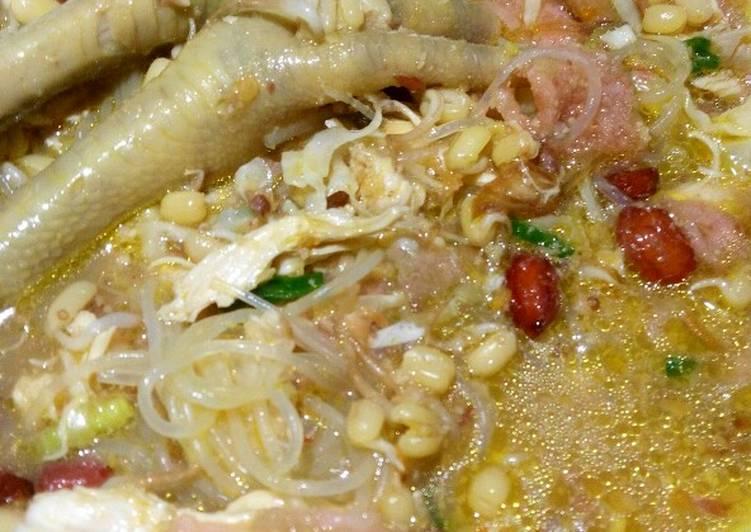 Resep: Soto / Sroto Ayam Sokaraja khas Purwokerto Banyumas ala resto