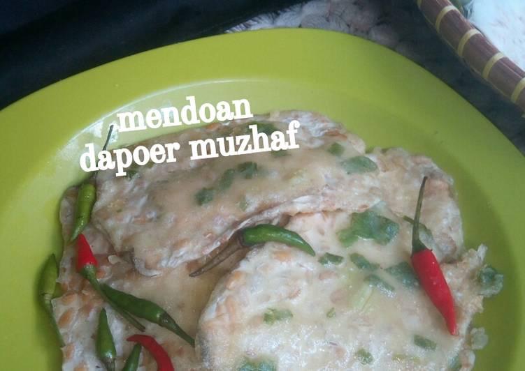 Resep membuat Mendoan khas Purwokerto lezat