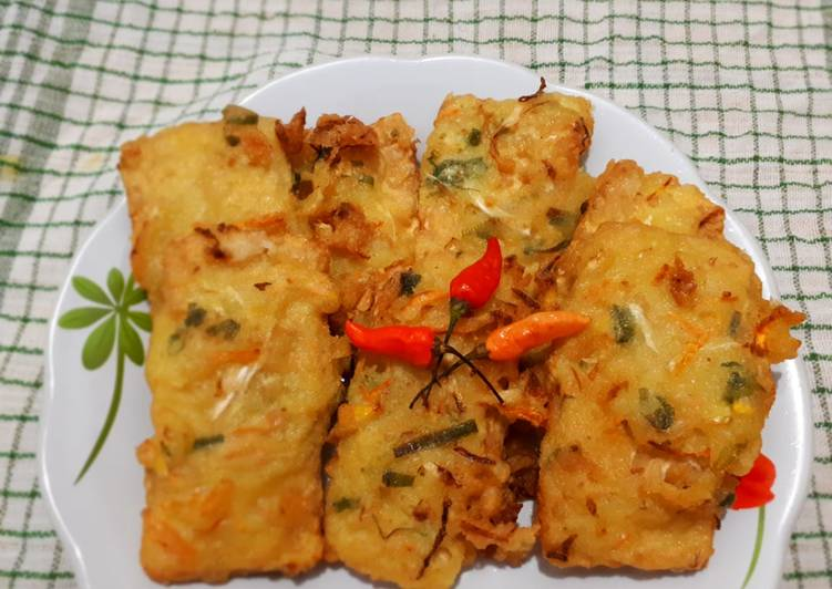 Resep memasak Tempe Mendoan Sayur yang bikin ketagihan