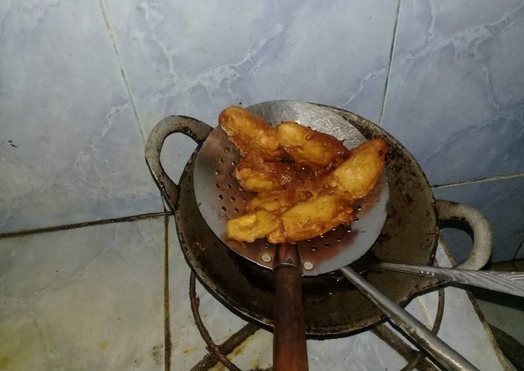 Resep memasak Pisang goreng kopi klothok (Jogja) yang menggugah selera