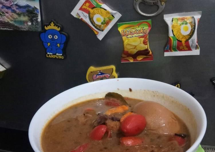 Resep: Brongkos khas Jogja yang bikin ketagihan