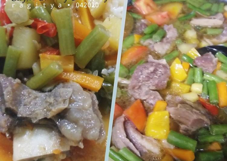 Resep: Sayur Sarang Bandang (Asem-asem Jogja) ala resto