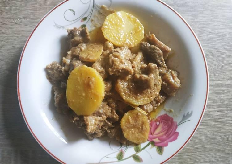 Resep: Daging Masak Puteh khas Aceh istimewa