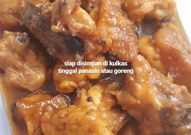 Resep: Ayam bacem Jogja lezat