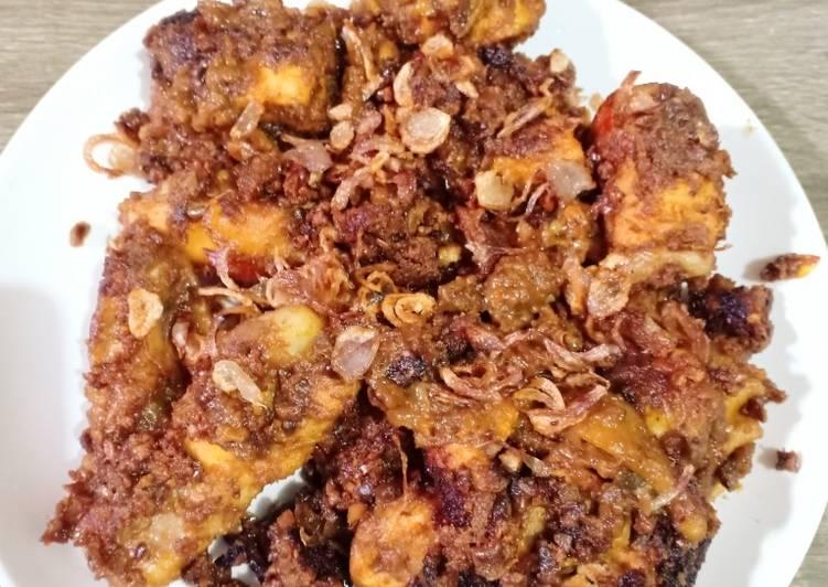 Cara Mudah membuat Ayam bakar bumbu kacang (ala sunmor jogja)