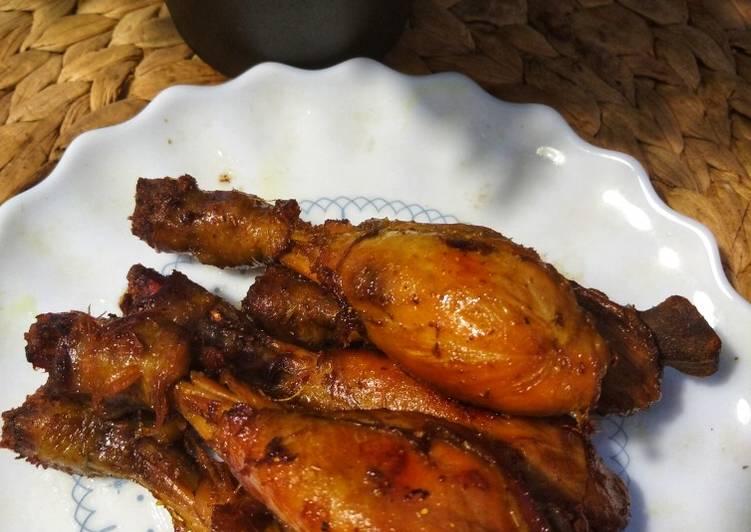 Resep: Bacem paha ayam tanpa kulit istimewa