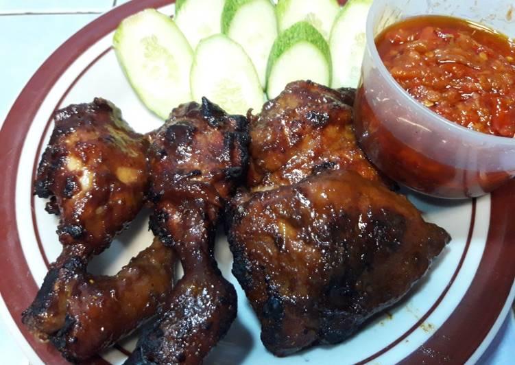 Resep: Ayam bakar bumbu bacem enak