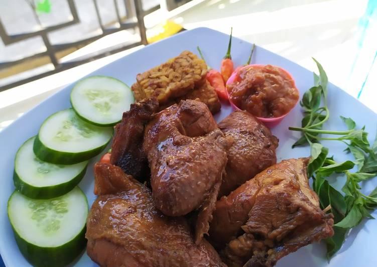 Cara Mudah mengolah Ayam bumbu bacem sedap