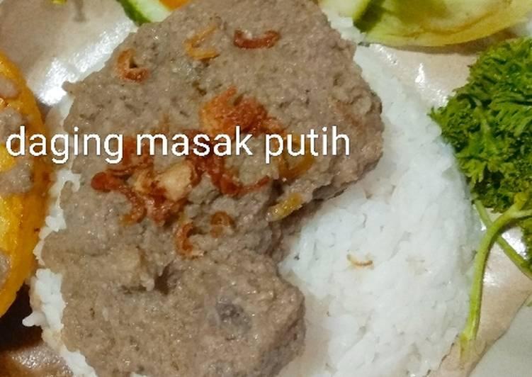 Daging masak puteh
