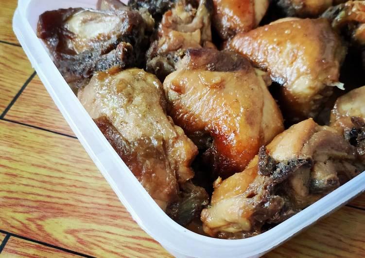 Resep memasak Ayam bacem beku (frozen) istimewa