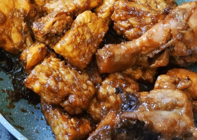 Resep: Ayam dan Tempe Bacem yang bikin ketagihan