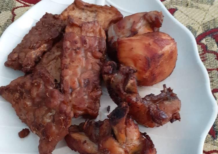 Resep: Baceman Teh, Tahu,Tempe dan Ayam