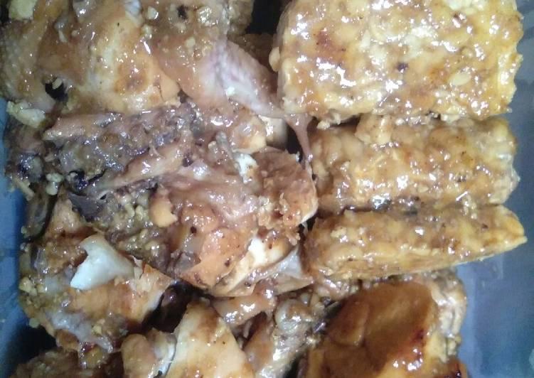 Resep: Ayam bakar bumbu bacem lezat