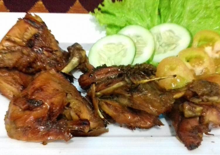 Cara Mudah membuat Ayam bakar bumbu bacem yang menggugah selera