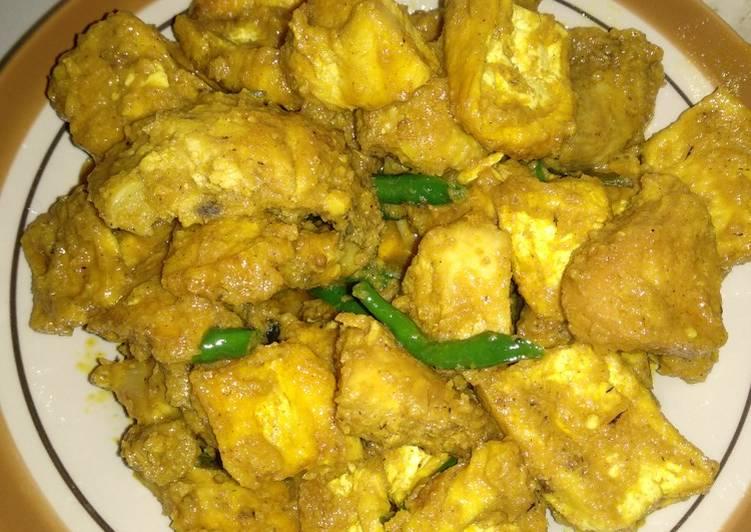 Resep: Ayam,tahu bacem kuning lezat