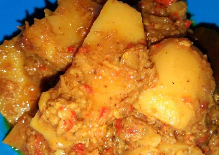 Resep: Rendang kentang ala anak kos istimewa