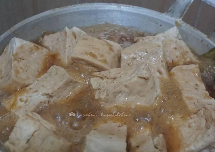 Resep: Tahu & Ayam Bacem istimewa