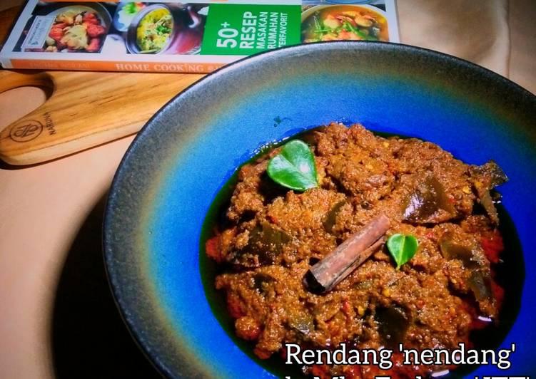 Rendang Daging a la Mba Endang 'JTT'
