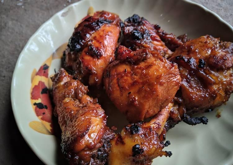 Resep membuat Ayam bacem bakar istimewa